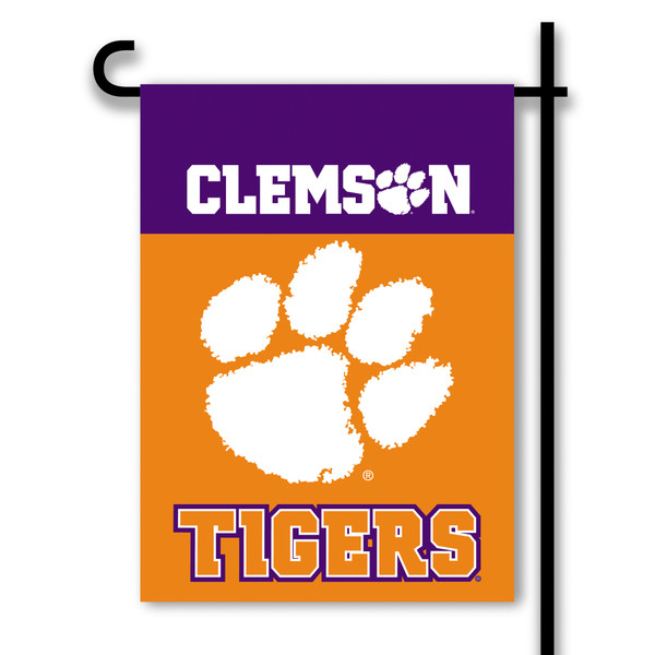 Clemson Tigers 2-Sided Garden Flag