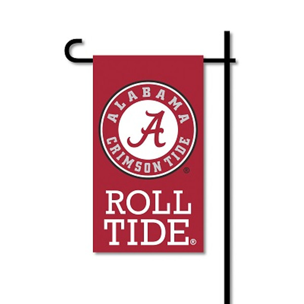 Alabama Crimson Tide Mini Garden Flag w/ Pole