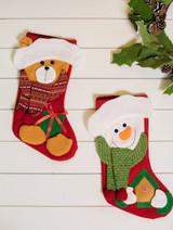 Snowman/Bear Stocking