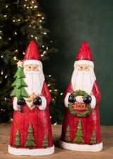 Traditional Wood Finnish Santas