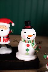 Resin Snowman Scarf Figurine
