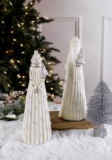 Resin Elegant Santa/Snowman