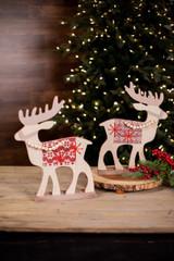 Standing Beaded Reindeer