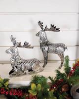 Metal Elegant Reindeer