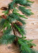5' Woodland Mix Pine Cone Garland