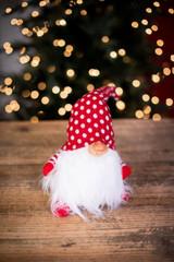 "16"" Red Polka Dot Gnome"