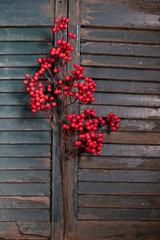 Petite Red Berry Christmas Tree Spray