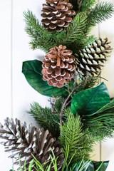 "60"" Pine Magnolia Leaf Garland"