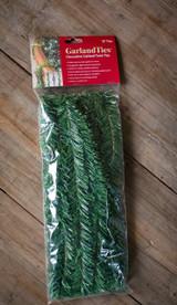"""14"""" Noble Pine Garland Ties - 10 Pack"""