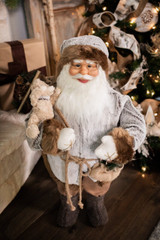 Woodland Faux Fur Coat Santa