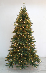 Natural Evergreen Christmas Tree