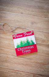 """Farm Fresh"" Farmhouse Christmas Ornaments"