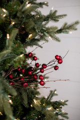 "24"" Crabapple Twig Christmas Tree Sprays"