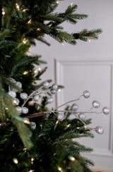 "26"" Beaded Crabapple Christmas Tree Sprays"