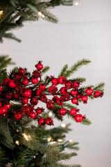"""28"""" Bead Berry Pine Christmas Tree Sprays"""