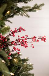 """32"""" Mini Ice Berry Christmas Tree Sprays"""