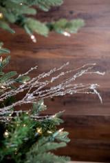 "40"" Iced Twig Christmas Tree Sprays"