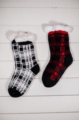 Scottish Plaid Thermal Cozy Socks