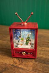 "9"" LED Snowman TV Water Globe"