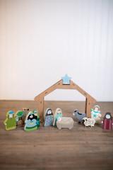 12 Piece Children's Nativity Set