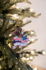 American Hero Eagle Christmas Tree Ornaments