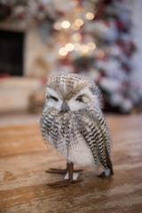 Faux Fur Owl