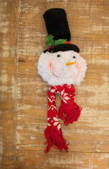 Snowman Head Christmas Ornament