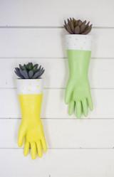 "13"" Resin Kitchen Glove Wall Planter"