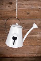 "13"" Metal Hanging Watering  Can Birdhouse"