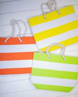 """19"""" Cotton & Polyester Beach Bag"""