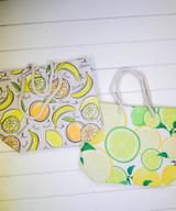 """20"""" Cotton & Polyester Beach Bag"""