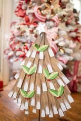 "24"" Wood Rustic Christmas Tree"