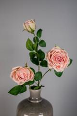 """33"""" Triple Open Garden Rose Spray"""