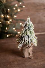 "9"" Snowy Pine Tree"