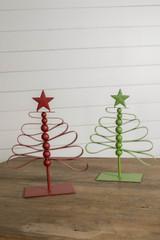 """13"""" Metal Christmas Tree"""