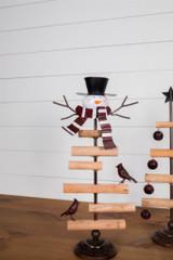 "18"" Metal/Wood Jingle Bell Tree"