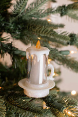 """3"""" Acrylic Light Up Candle Clip"""