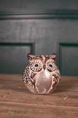 "6"" Small Glass Owl figurine"