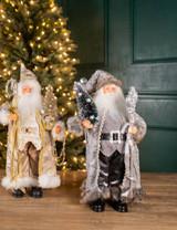 """18"""" Polyester Holiday Santa"""
