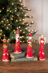 """8"""" Small Dolomite Light Up Christmas Character"""