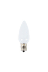 C9 Wonderful LED SMD Bulb (25 bulbs/box) - Frosted, Cool White