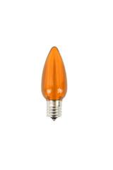 C9 Minleon LED SMD Bulb (25 bulbs/box) - Smooth, Orange