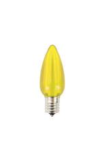 C9 Minleon LED SMD Bulb (25 bulbs/box) - Smooth, Yellow