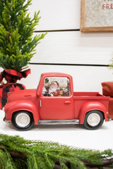 """9"""" Battery Operated Lighted Spinning Water Globe Truck"""