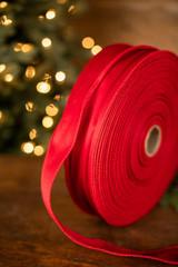 "2.5"" x 100 Yard Red Ribbon"
