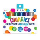 Metallic Chunkies Paint Sticks- Set of 6 Giftables