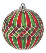150MM VP Mercury Ridged Diamond Stripe Ball, Box of 2