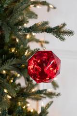 """4"""" Acrylic Precious Gem Christmas Ornament"""