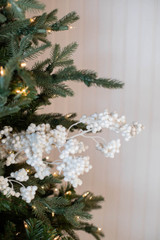 "29"" Snow Berry Holiday Christmas Spray"