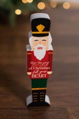 "8"" May The Joy Of Christmas Fill Your Heart Decor Block"